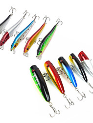 10 pc Esche rigide Esche nuotanti Pesciolini Popper Confezioni di esche Ami da pesca EscaEsche rigide Pesciolini Popper Confezioni di