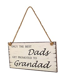 Amazon ebay hot style wooden gift to dad Wooden hangs Taiwan manufacturers selling father's day