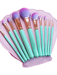 cheap -10Contour Brush Makeup Brushes Set Blush Brush Eyeshadow Brush Lip Brush Brow Brush Eyelash Brush Concealer Brush Powder Brush Foundation