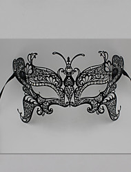 Butterfly Metal Laser Cut Venetian Masquerade Mask with Rhinestones3013A1