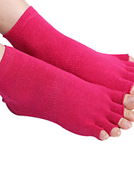 cheap -Unisex Toe Socks Hiking Socks Socks Anti-skidding/Non-Skid/Antiskid Sweat-wicking for Yoga