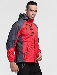 Per uomo Per donna Giacche 3-in-1 Ompermeabile Tenere al caldo Antivento Fodera di vello Traspirante Tuta da ginnastica per Sci Campeggio