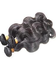 Недорогие -Бразильский Реми волос Пряди натуральных волос Реми Естественные кудри Натуральные волосы Реми