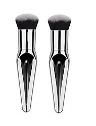 billige Foundationbørster-1 Makeup børster Profesjonell Syntetisk hår / Kunstig fiber børste Reisen / Økovennlig / Profesjonell Metall