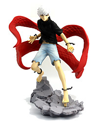 Недорогие -Токио вурдалак Кен Kaneki PVC 24 Аниме Фигурки Модель игрушки игрушки куклы