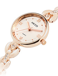 cheap -KEZZI Women's Fashion Watch / Wrist Watch Cool Alloy Band Casual Silver / Rose Gold