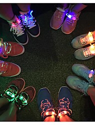 Fashion Men Women Light Up LED Shoelaces Party Glowing Night Running Shoe Laces Club Highlight Luminous Shoelace