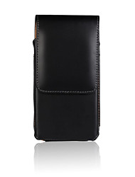 economico -Custodia Per iPhone 5 Apple Custodia iPhone 5 Con chiusura magnetica Borsetta marsupio Tinta unica Resistente pelle sintetica per iPhone
