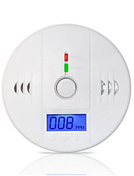 cheap -85dB Warning High Sensitive LCD Photoelectric Independent CO Gas Sensor Carbon Monoxide Poisoning Alarm Detector