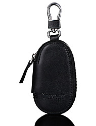 cheap -Men's Bags Cowhide Coin Purse Zipper for Shopping Casual Sports Office & Career Outdoor All Seasons Black