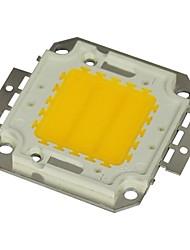 Недорогие -jiawen® 20w 1600-1800lm 3000K теплый белый привело чип (постоянного тока 30-33v)