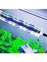 Недорогие -Аквариумы LED подсветка Белый С переключателем Светодиодная лампа 220.0V