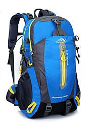 40 L sac à dos Sac à Dos de Randonnée Chasse Escalade Sport de détente Cyclisme/Vélo Camping & Randonnée Voyage EcoleEtanche Zip étanche