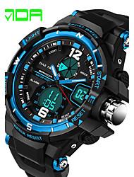 Men's Fashion Watch Digital Watch Sport Watch Dress Watch Quartz Digital Calendar / date / day Water Resistant / Water Proof Silicone Band