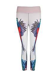 cheap -Women's Running Baselayer / Running Tights / Gym Leggings Sports Fashion, Digital Modal Pants / Trousers Yoga, Fitness, Gym Activewear Quick Dry, Breathable High Elasticity