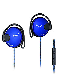 Shini SN-Q140 Headphones 3.5mm Headset EarHook Earphone For Mp3 Player Computer Mobile Telephone Earphone