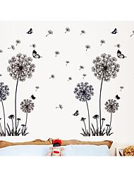Romance Mode Loisir Stickers muraux Autocollants avion Autocollants muraux décoratifs,Papier Matériel Décoration d'intérieur Calque Mural