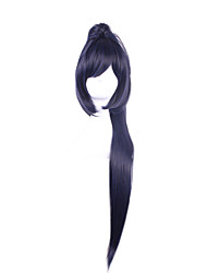 Cosplay Wigs NetYou Hand Swim Yin and Yang Division Weeden Wig Split Single Tiger Mouth Pinched Tail Wig 28inch