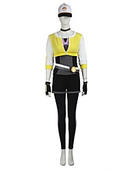 Inspired by Assassin Ace Video Game Cosplay Costumes Cosplay Suits Cosplay Tops/Bottoms Patchwork Leotard Coat Gloves Belt More