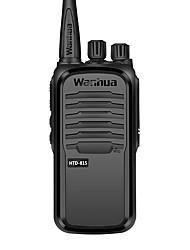 cheap -wanhua Walkie Talkie Handheld Anolog Monitoring >10KM >10KM 16 3500mAh 6W Walkie Talkie Two Way Radio