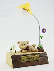 1 PC Creative Resin Crafts Pastoral Micro Landscape Decoration Home Furnishing Cartoon Totoro Nightlight