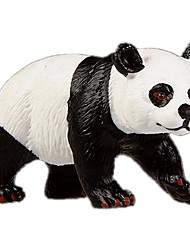 baratos -Urso Panda Modelos de exibição Animais Simulação Clássico Chique & Moderno Policarbonato Plástico Para Meninas Dom 1pcs