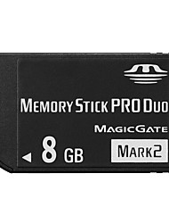 8GB High Speed Black MS Memory Stick Pro Duo Card Storage for Sony PSP 1000/2000/3000 Game Console