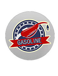 cheap -Gasoline Pattern Decorative Car Sticker