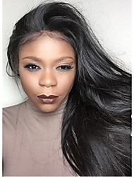 Silky Straight Full Lace Human Hair Wigs For Black Women Brazilian Virgin Hair Full Lace Wigs Human Hair Wigs with Baby Hair