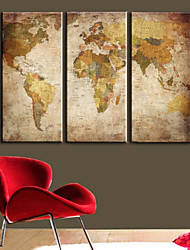 Traditional,Three Panels Canvas Horizontal Print Wall Decor For Home Decoration