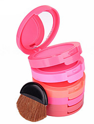 cheap Blush-5 Blush Powder Coloured gloss Long Lasting Natural Face