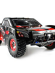 cheap -RC Car WL Toys 12423 2.4G Truck Off Road Car High Speed 4WD Drift Car Buggy Racing Car 1:12 Brush Electric 50 KM/H Remote Control