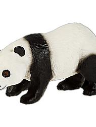 baratos -Urso Panda Modelos de exibição Animais Criativo Simulação Policarbonato Plástico Para Meninas Dom 1pcs