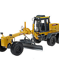 cheap -KDW Toy Cars Toys Construction Vehicle Motor Grader Toys Retractable Excavating Machinery Metal Alloy Plastic Metal ABS Classic &