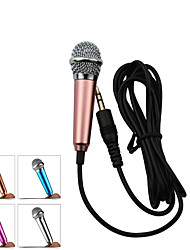 Portable Mobile Phone Mini Karaoke Microphones KTV Singing Music Chat Stereo Condenser Mic For Laptop PC Smartphone Android iphone