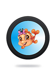 cheap -Portable Cute Gold Fish 5V 2A Wireless Charging Pad/Stand for All QI-Enabled Devices Samsung Galaxy S7  S7 Edge S6   S6 EdgeGoogle Nexus 4  5