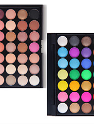 preiswerte -Lidschattenpalette Trocken Lidschatten-Palette Puder NormalAlltag Make-up Halloween Make-up Party Make-up Feen Makeup Cateye Makeup