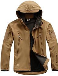Недорогие -Куртка для охоты Муж. Жен. Универсальные Сохраняет тепло Дышащий камуфляж Верхняя часть Длинный рукав для Охота Восхождение