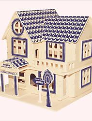 Недорогие -Деревянные пазлы Знаменитое здание / Китайская архитектура / Лошадь профессиональный уровень деревянный 1pcs Детские Мальчики Подарок