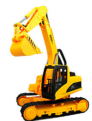 cheap -Pull Back Vehicle Construction Truck Set Excavator Excavating Machinery Novelty Classic & Timeless Boys'