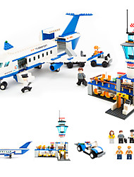 Building Blocks Toys Aircraft Cool 652 Pieces Boys' Boys Birthday Carnival Children's Day Gift