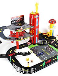 Недорогие -Машинки и треки Гаражи и парковки Машинки Формулы 1 Автомобиль Творчество Оригинальные Мальчики Игрушки Подарок / Металл