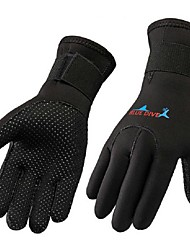 Diving Gloves Sports Gloves Winter Gloves Nylon Neoprene Full-finger Gloves Keep Warm Wearproof Tactical Multifunction Anti-skidding