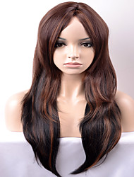 cheap -Synthetic Hair Wigs Loose Wave Capless Carnival Wig Halloween Wig Natural Wigs Long Very Long Brown Synthetic Wig
