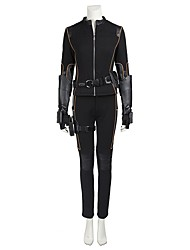 Superhéros Cosplay Costume de Cosplay Pour Halloween Costume de Soirée Bal Masqué Cosplay de Film Manteau Pantalon Gants Ceinture Bottes
