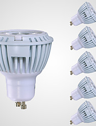 GU10 LED Spotlight MR16 1 COB 520 lm Warm White 3000 K AC 110-130 V