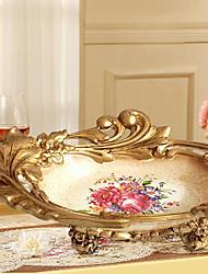 Creative Fruit Bowl Furnishing Articles Fruit Basket Resin Desktop Decoration Luxury European Top-Grade Process