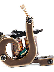 solong Tätowierung benutzerdefinierte Messing Tattoo Maschinengewehr handgefertigt 12 wickeln reine Kupferspulen für Liner m207-1