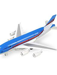 Недорогие -Самолеты и вертолеты Вставные и тянуть игрушки 1:10 Металл Пластик Коричневый