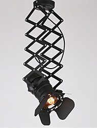 Vintage Loft Spot Light Industrial pendant light Black Spotlights Clothes Store ceiling lamp